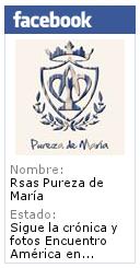 Página de Facebook de Rsas Pureza de María