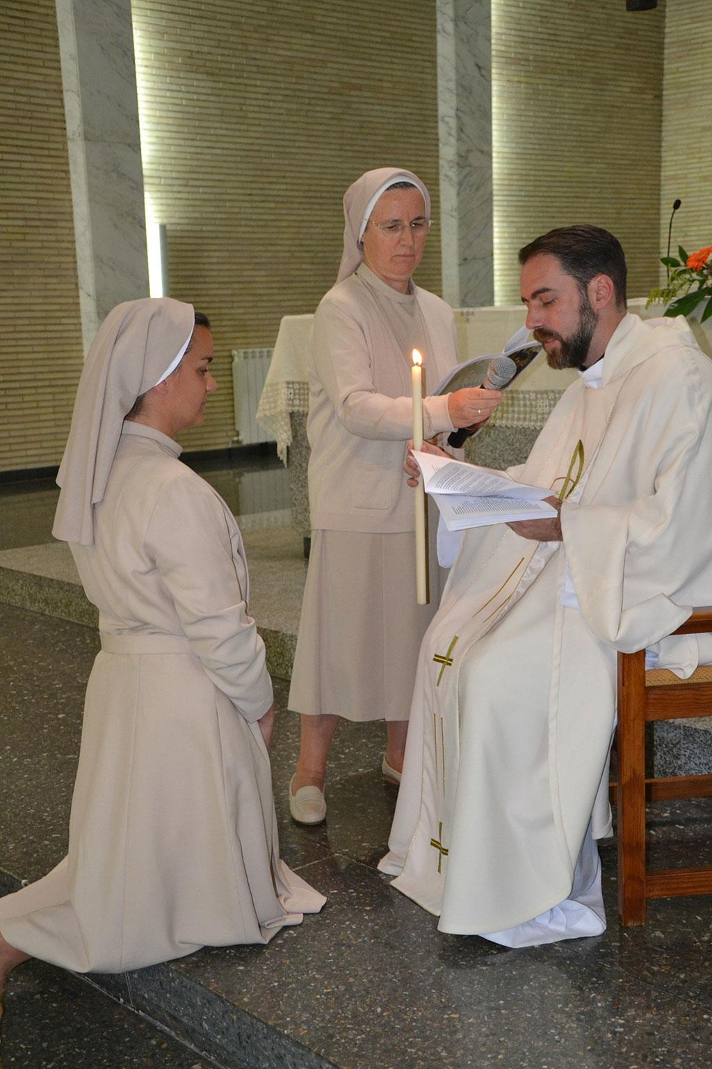 detalle de la eucaristía