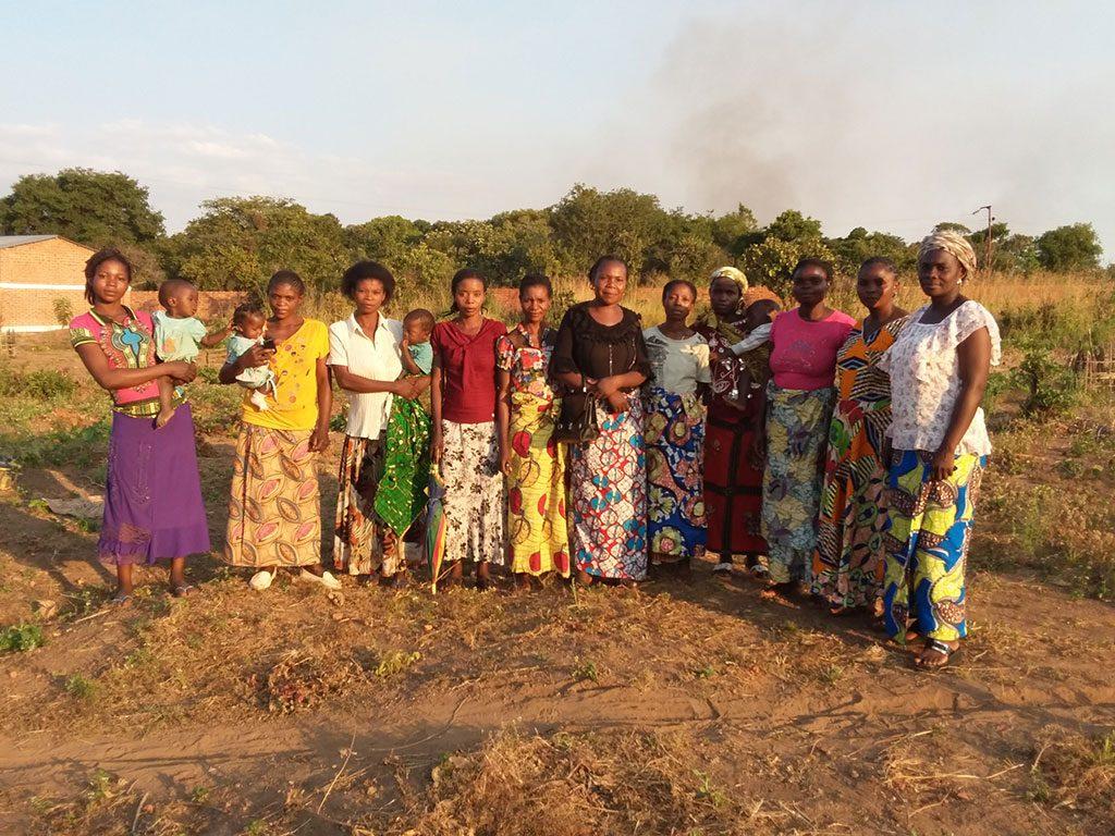 Mujer en RD Congo, Pureza de María 2017