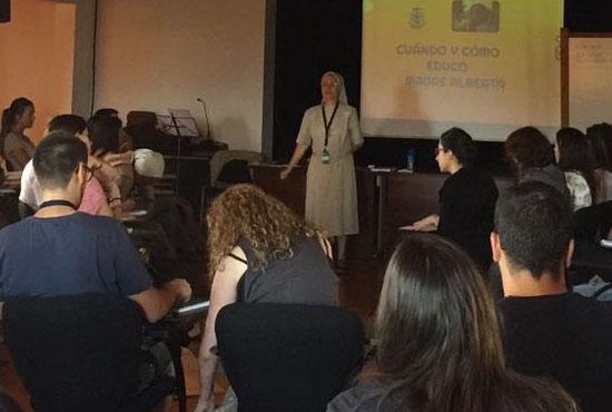 Profesores noveles, Pureza de María 2017
