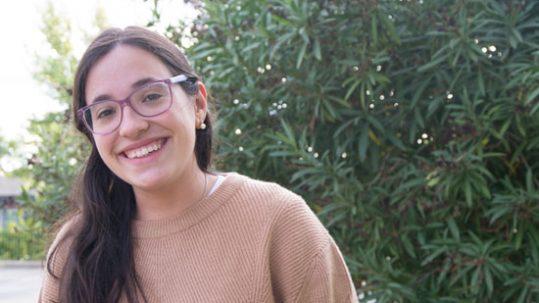 Postulante Carlota Salleras