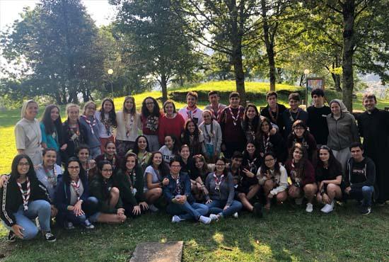 Voluntariado Lourdes 2018 Pureza de María